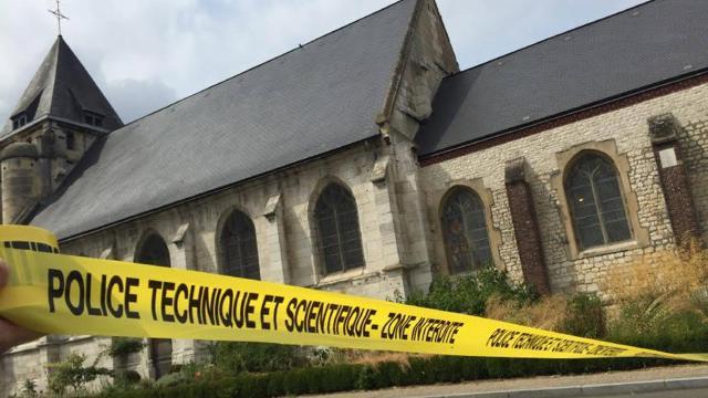 Kościele Saint-Étienne-du Rouvray
